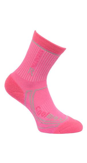 Regatta 2 Season Coolmax Trek & Trail Socks Children pink